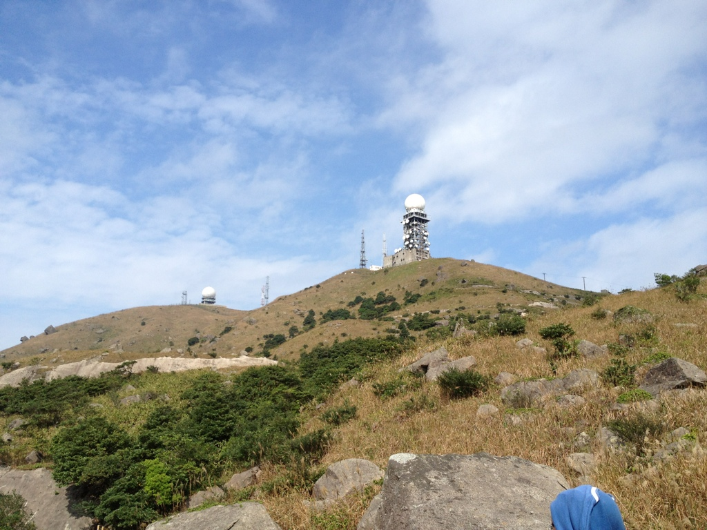Tai Mo Shan, view from the other side